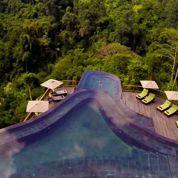Un hôtel au cœur de la forêt tropicale à Bali
