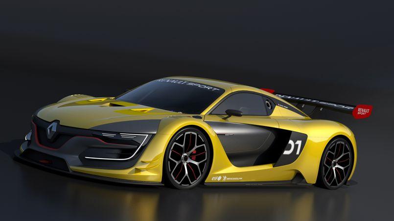 Renault RS 01, un coupé dans la course