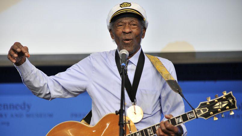 Chuck Berry en concert � Boston