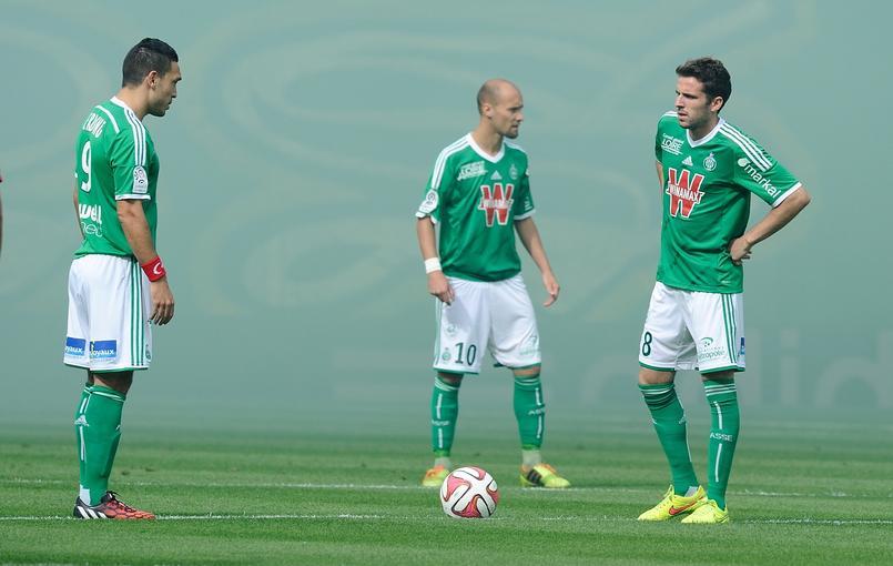 A Geoffroy-Guichard, les Verts ont �t� accroch�s par Rennes lors de la 3e journ�e (0-0)