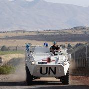Des Casques bleus prisonniers sur le Golan
