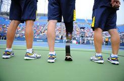 Todd Reed, 53 ans, blessé de guerre et ramasseur de balles à l'US Open