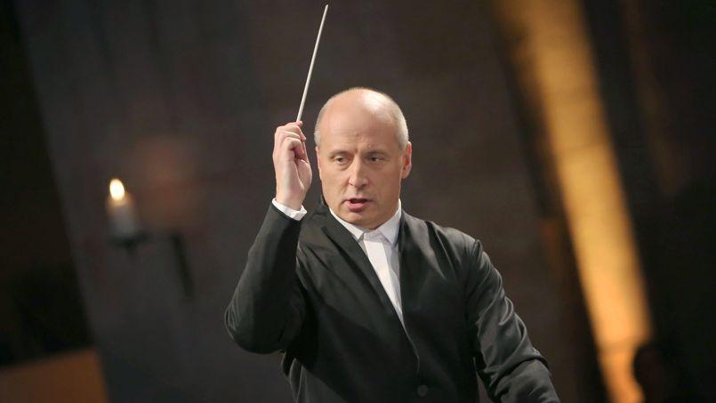 Paavo Järvi lors du festival Rheingau Musik à Francfort, en juin dernier.