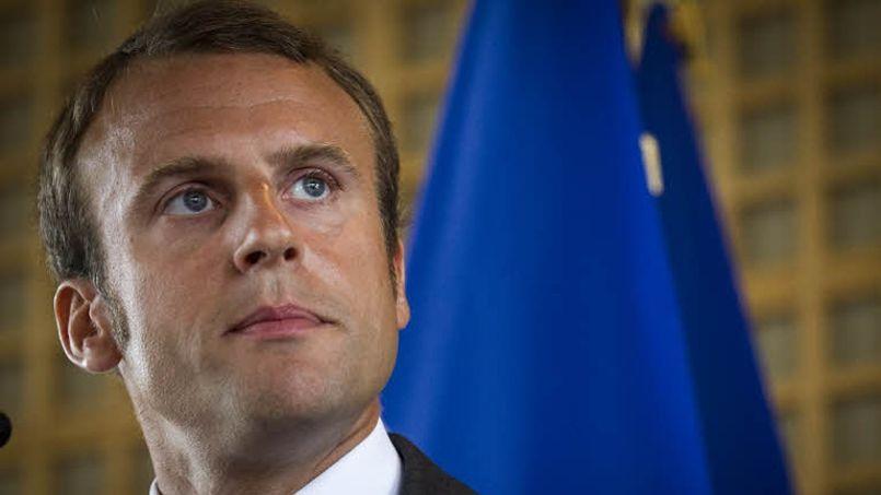 Plus Emmanuel Macron gagne en notoriété sur le plan politique, moins il est rémunéré... (Crédit: François BOUCHON/LE FIGARO)
