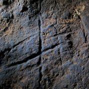 La première gravure pariétale de l'homme de Néandertal