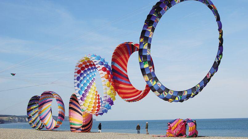 Célèbre Des cerfs-volants spectaculaires attendus à Dieppe MS78