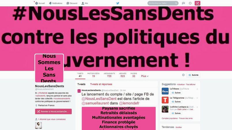 #SansDents était jeudi 4 septembre le hashtag le plus populaire sur Twitter en France.