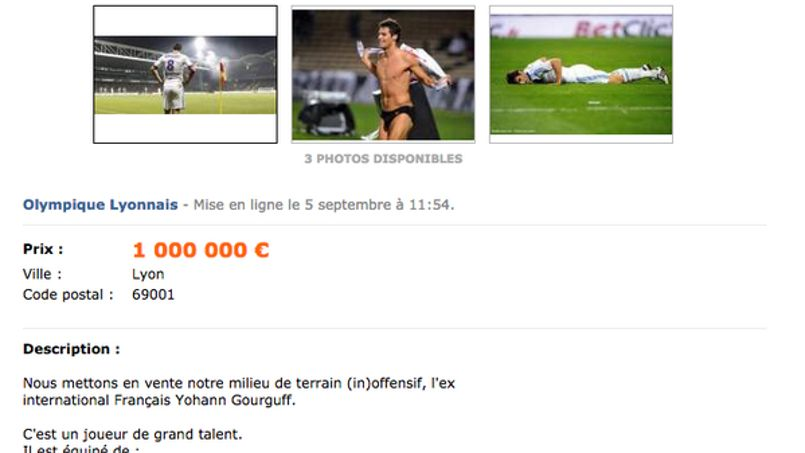 yoann gourcuff en vente sur le bon coin. Black Bedroom Furniture Sets. Home Design Ideas