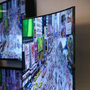 Samsung et LG en guerre dans les téléviseurs à écran incurvé