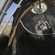 Atterrissage réussi pour la capsule Soyouz et ses trois spationautes