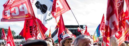 À la Fête de L'Humanité ,«Hollande et la vraie gauche, c'est fini»