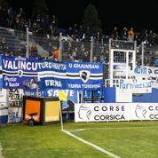 Une banderole polémique à Bastia