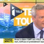 UMP : Le Maire veut organiser deux débats télévisés