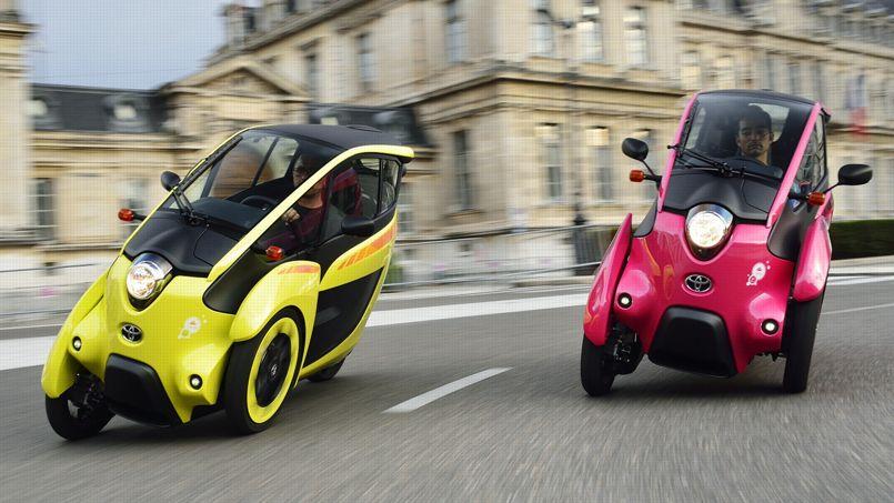 Toyota i-Road, révolution urbaine sur trois roues
