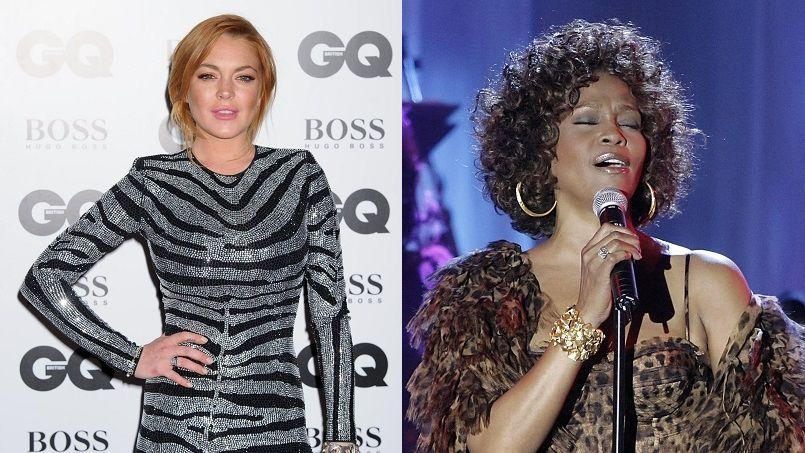 Lindsay Lohan dit avoir transporté le corps de Whitney Houston