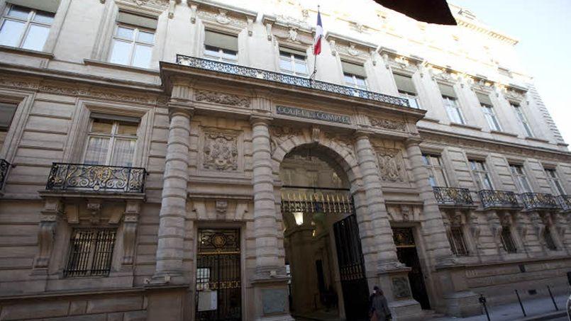 Le siège de la Cour des comptes, rue Cambon, à Paris. Crédit photo François BOUCHON/<i>Le Figaro</i>.