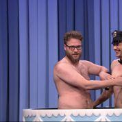James Franco et Seth Rogen nus chez Jimmy Fallon