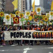Marche pour le climat : plus de 300.000 manifestants à New York