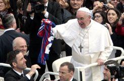 Quand le pape se faisait évincer d'un vestiaire de foot