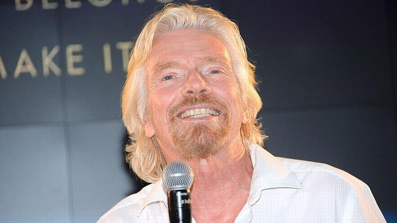 Le PDG de Virgin, Richard Branson