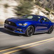 La Ford Mustang à bride abattue