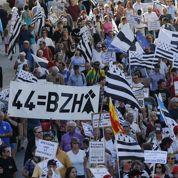 Manifestation à Nantes pour une Loire-Atlantique bretonne