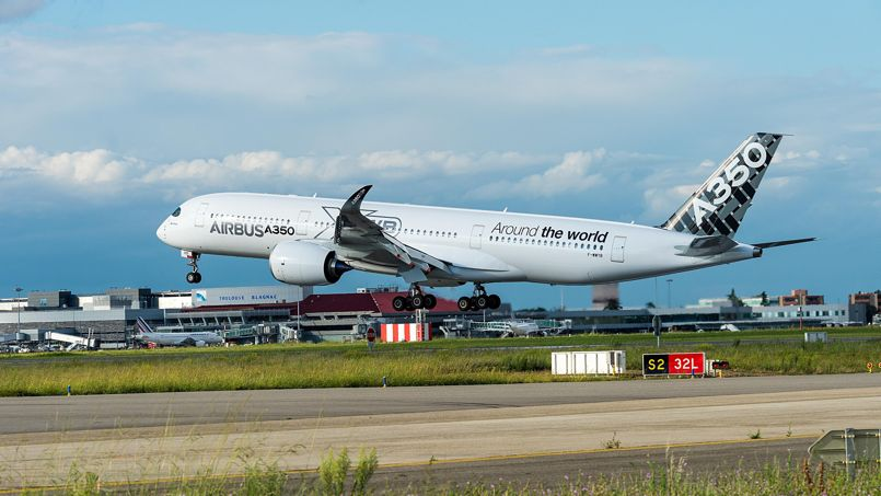 Airbus A350: sept ans pour avoir le droit de voler