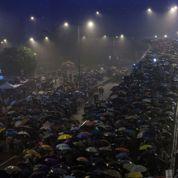 Veillée d'armes démocratique à Hongkong