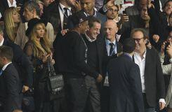 Beyoncé, Jay-Z, Beckham et Sarkozy: le show était aussi en tribunes
