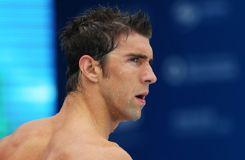 Michael Phelps avait les yeux «injectés de sang»