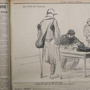Forain dessine la vie à l'arrière (1916)