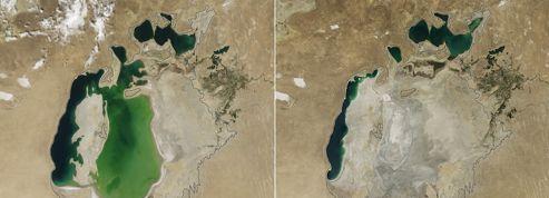 La mer d'Aral s'est perdue dans les sables du désert