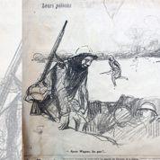 1915 : le recours au gaz à Ypres croqué par Forain