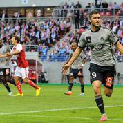 Gignac, meilleur attaquant européen devant Ronaldo et Messi