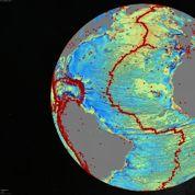 Une nouvelle carte des fonds marins