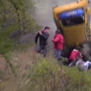 Des spectateurs d'un rallye miraculés après une sortie de route