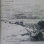 La vie au front vue par Forain (1915-1916)
