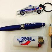 La police nationale met en vente des produits à son effigie