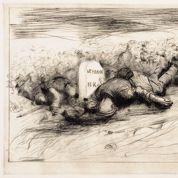 1916 : Forain symbolise Verdun par une borne