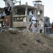 Le parkour transforme les ruines de Gaza en terrain de jeu