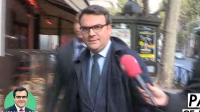 Thomas Thévenoud de passage à l'Assemblée