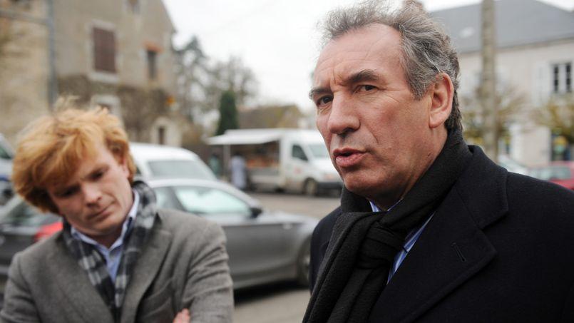 Marc Fesneau et François Bayrou.