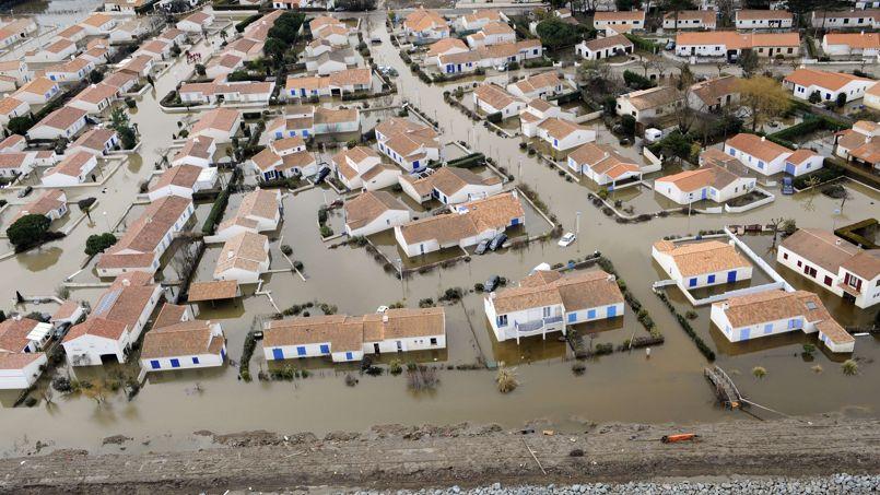 En février 2010, la tempête s'est abattue sur la faute-sur-Mer tuant 29 personnes.