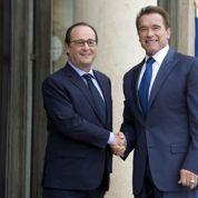 Hollande reçoit «Schwarzy» pour sauver la planète