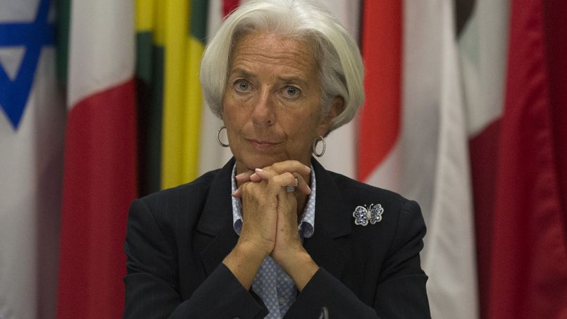 Christine Lagarde, directrice du FMI, le 8 octobre.