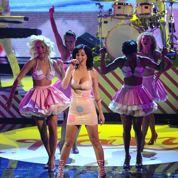 Katy Perry sur scène à la mi-temps du Superbowl