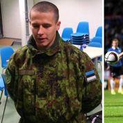 En un soir, un Estonien passe du marquage de Rooney à la caserne militaire