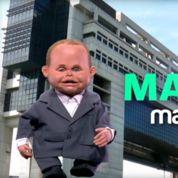 Les Guignols font chanter Emmanuel Macron