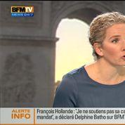 Batho : «Je ne soutiens pas la candidature de Hollande»
