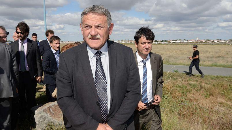 L'ancien maire de La Faute-sur-Mer, René Marratier, le 25 septembre 2014.